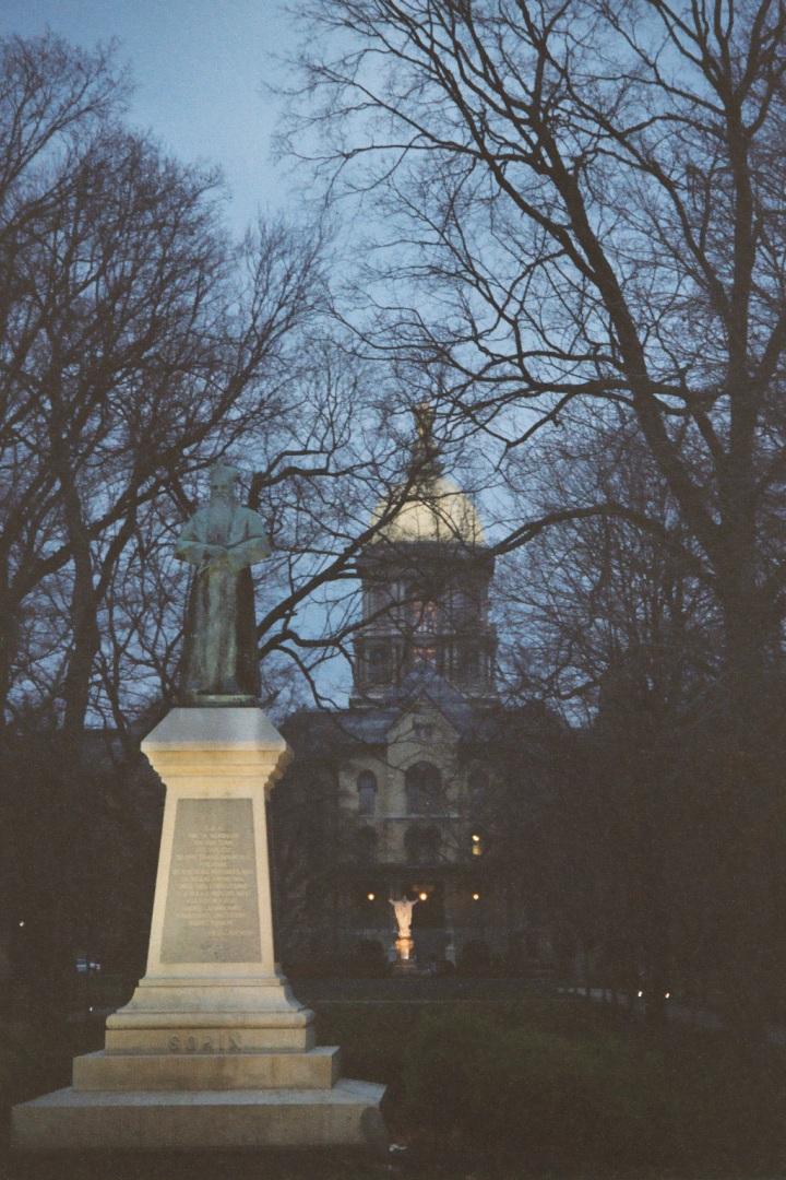 Administration building, University of Notre Dame
