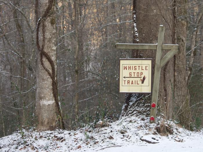 Home in North Georgia: Whistlestop Trail