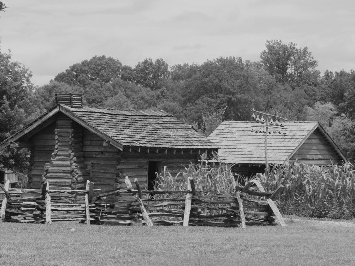 Slave cabin at Chief Vann House