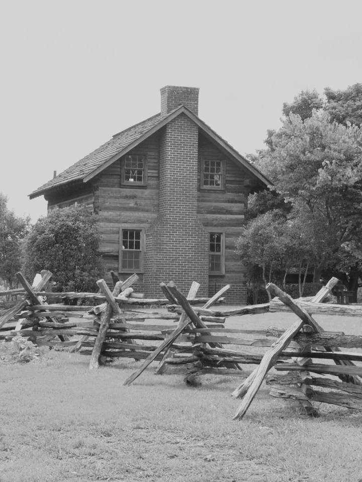 Outbuilding at Chief Vann House