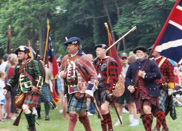 Scottish festival in Blairsville, GA
