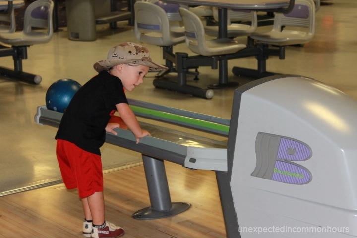 B. bowling