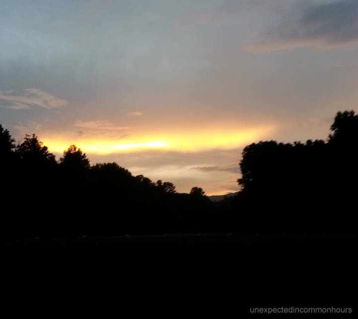 Kellum Valley sunset #1A