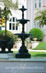 Brenau fountain