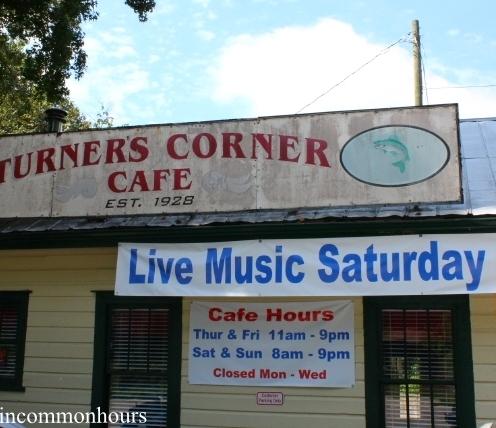 Side view Turner's Corner Cafe