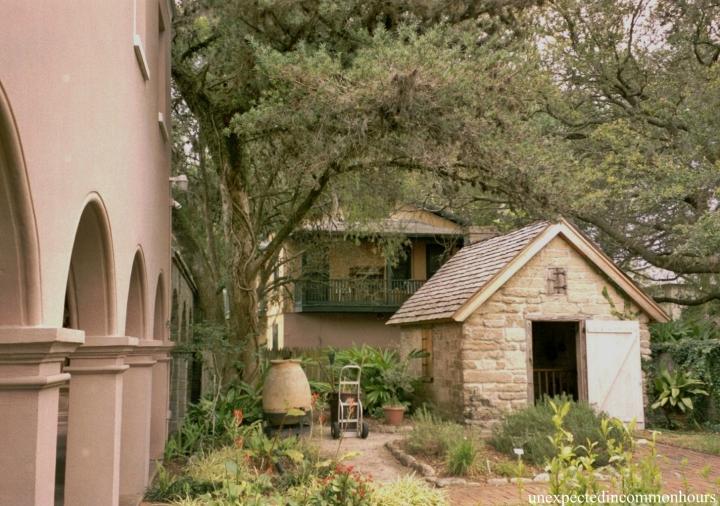 St. Augustine courtyard