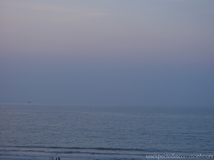 Barely discernable horizon