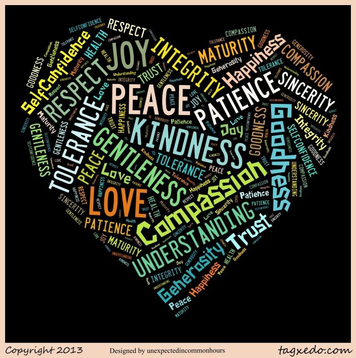 Heart of qualities
