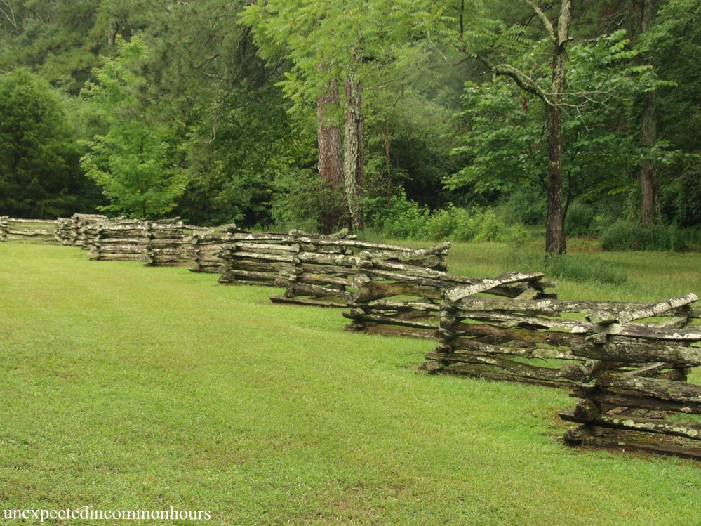 Wooster House fence at New Echota