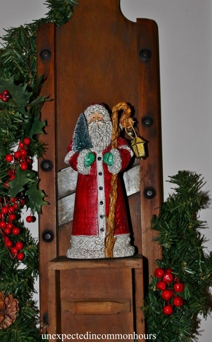 Kraut board Santa