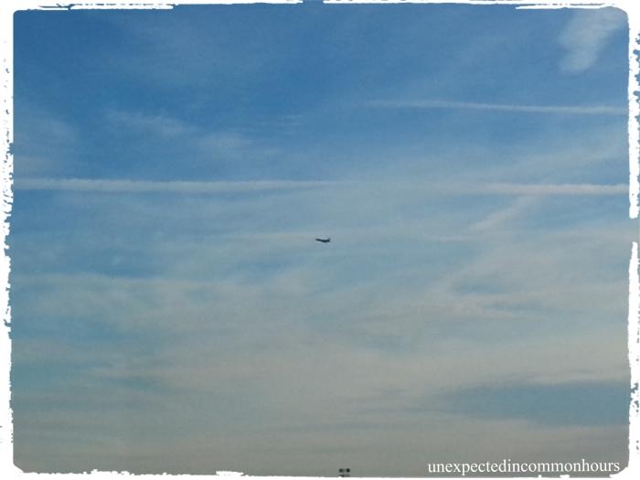 plane from hospital window #2