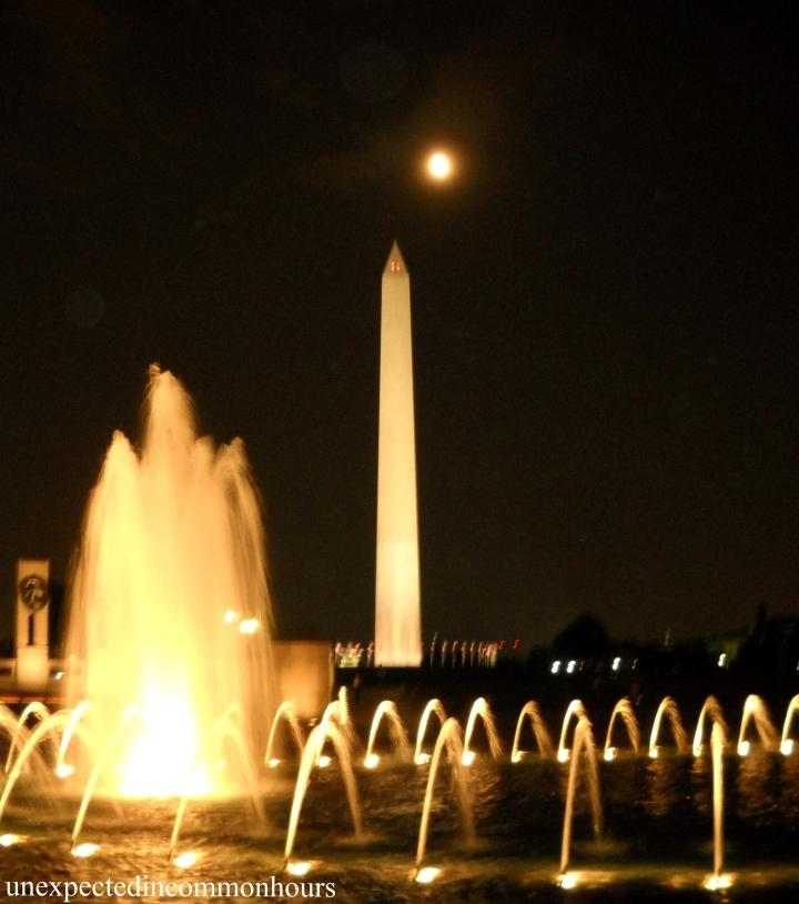 Washington D.C. at night