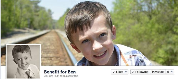 Benefit for Ben FB page