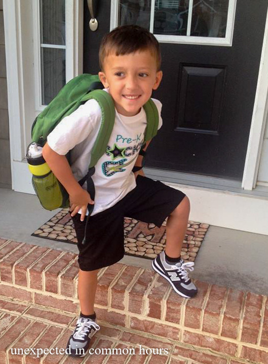 First day of pre-K #1
