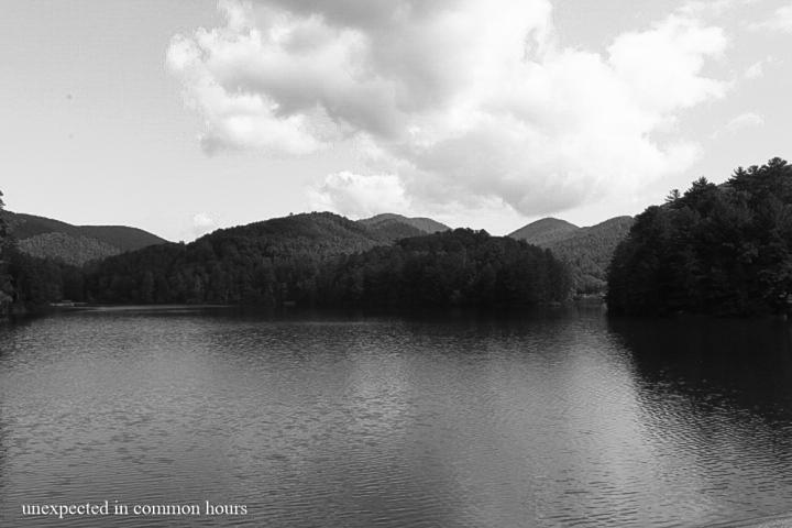 Far away in the distance, Unicoi Lake 2