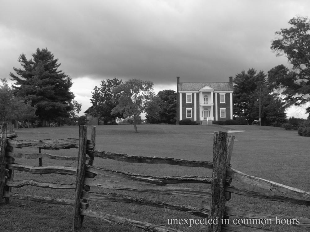 Vann House fence