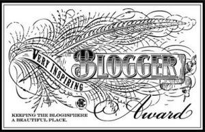 Very Inspiring Blogger Award 2