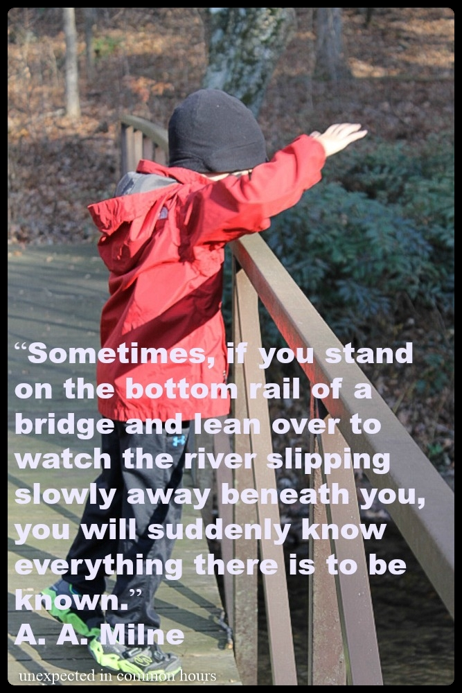A.A. Milne quote