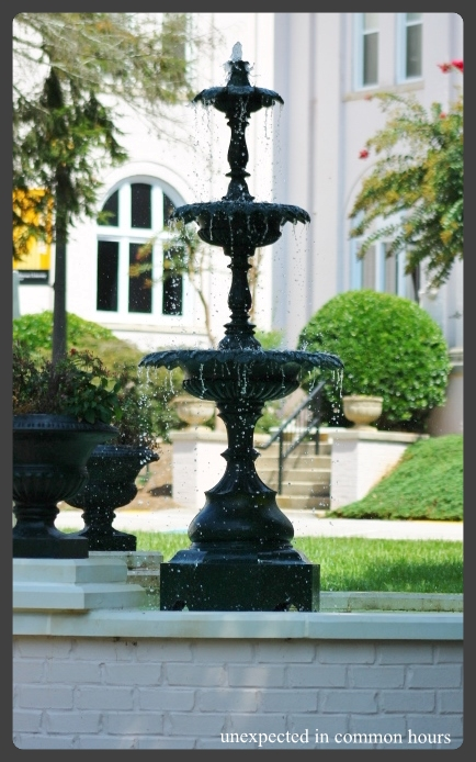 Brenau fountain #1