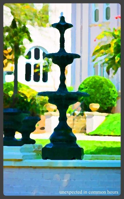 Brenau fountain #2