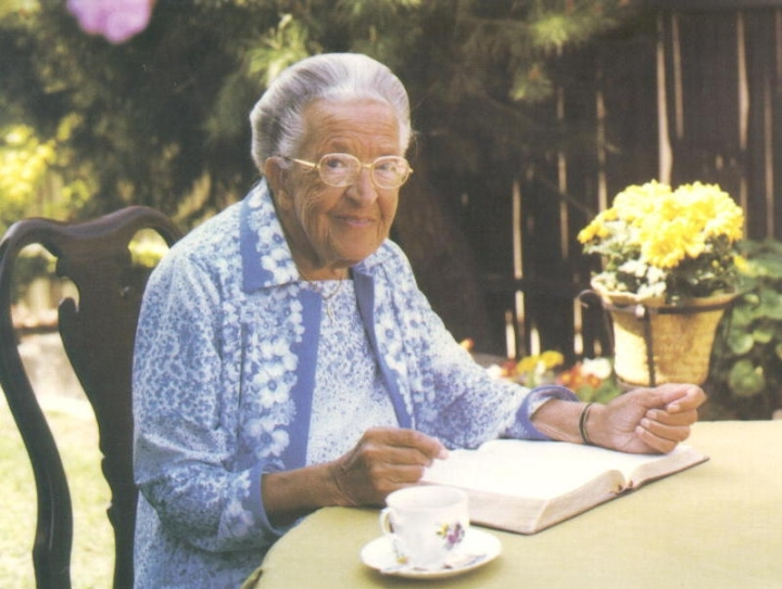 Corrie ten Boom as she looked when I met her (Photo credit: tenboom.org)