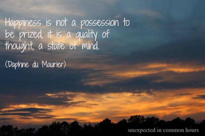 Daphne du Maurier quote