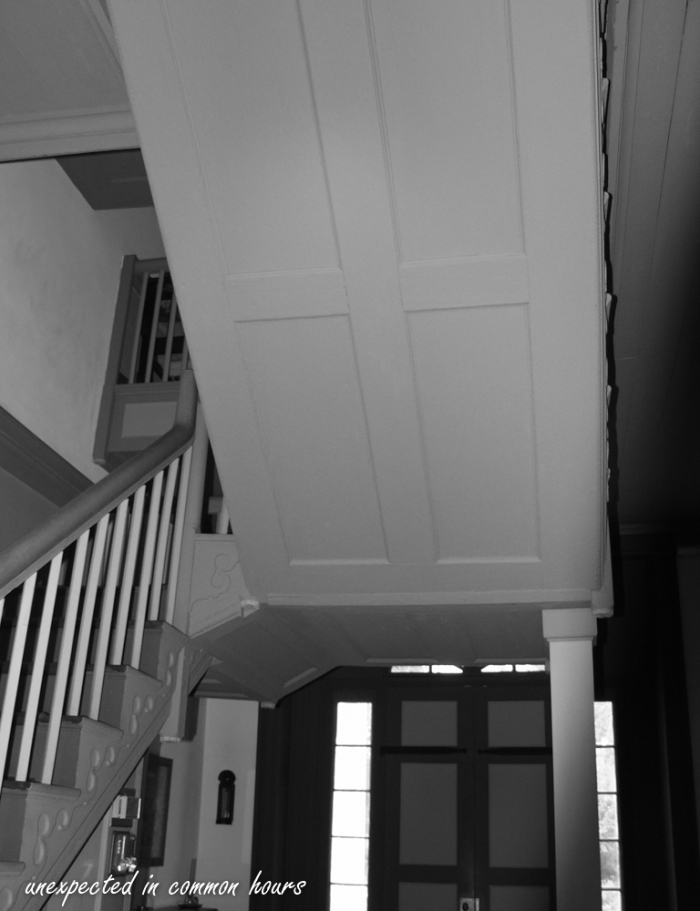 Chief Vann House cantilevered staircase