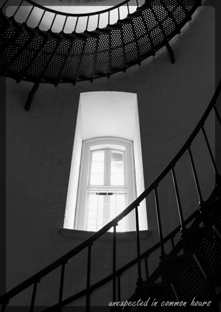 Staircase and window