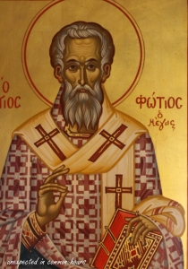 Saint Photios, Patriarch of Constantinople