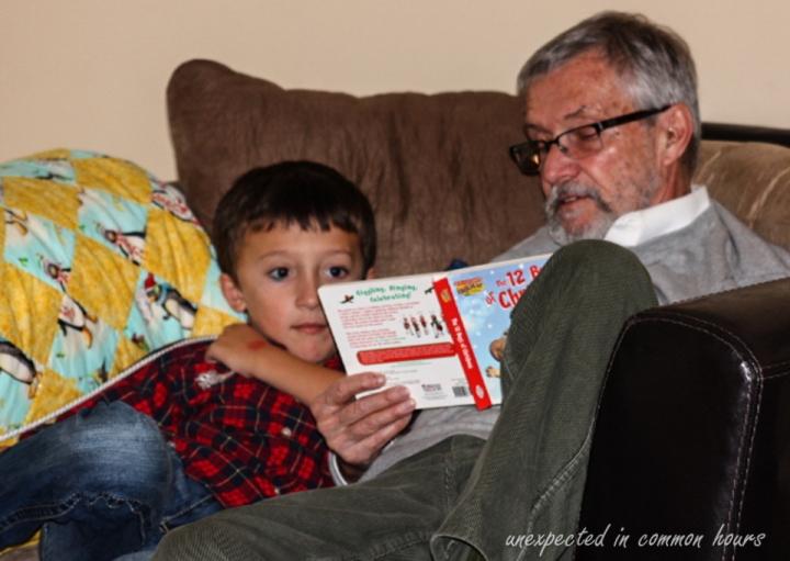 G-pa reading to Ben