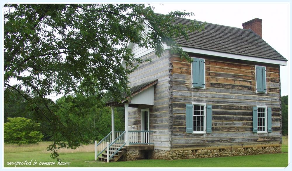 Cherokee Council House with border