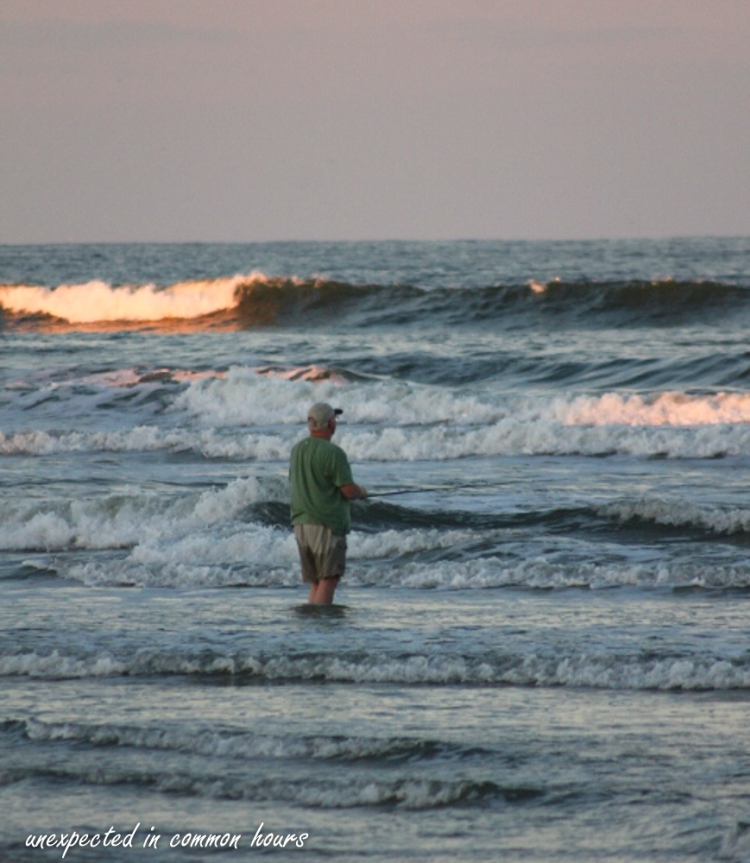 Fishing in the waves 2