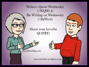 writer's quote wed