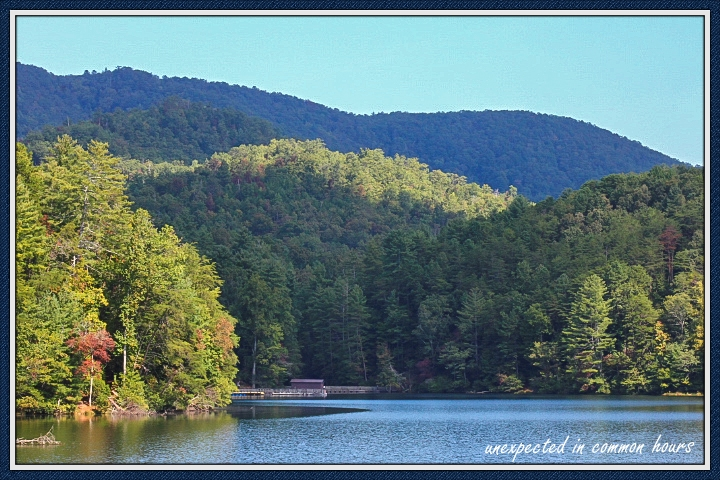 Unicoi Lake in N.E. Georgia