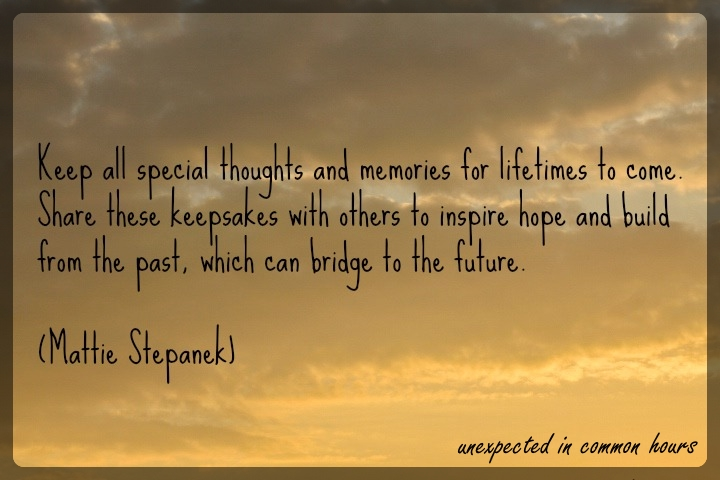 Special thoughts