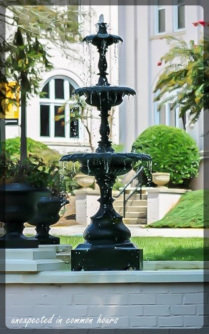 Brenau fountain