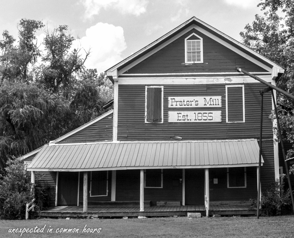 Built in 1855, Prater's Mill is located in Varnell, GA which is in Whitfield County in Northwest Georgia