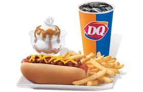 Dairy Queen food