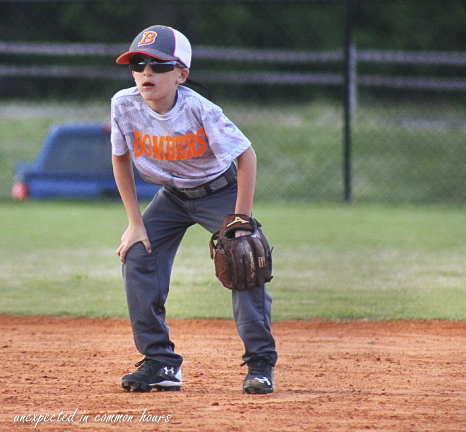 Grandson B., now 6 years old, is a natural athlete. He plays baseball, soccer, and basketball even after undergoing three brain surgeries.