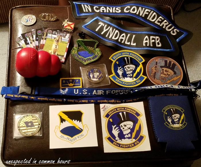 Souvenirs from Tyndall Air Base