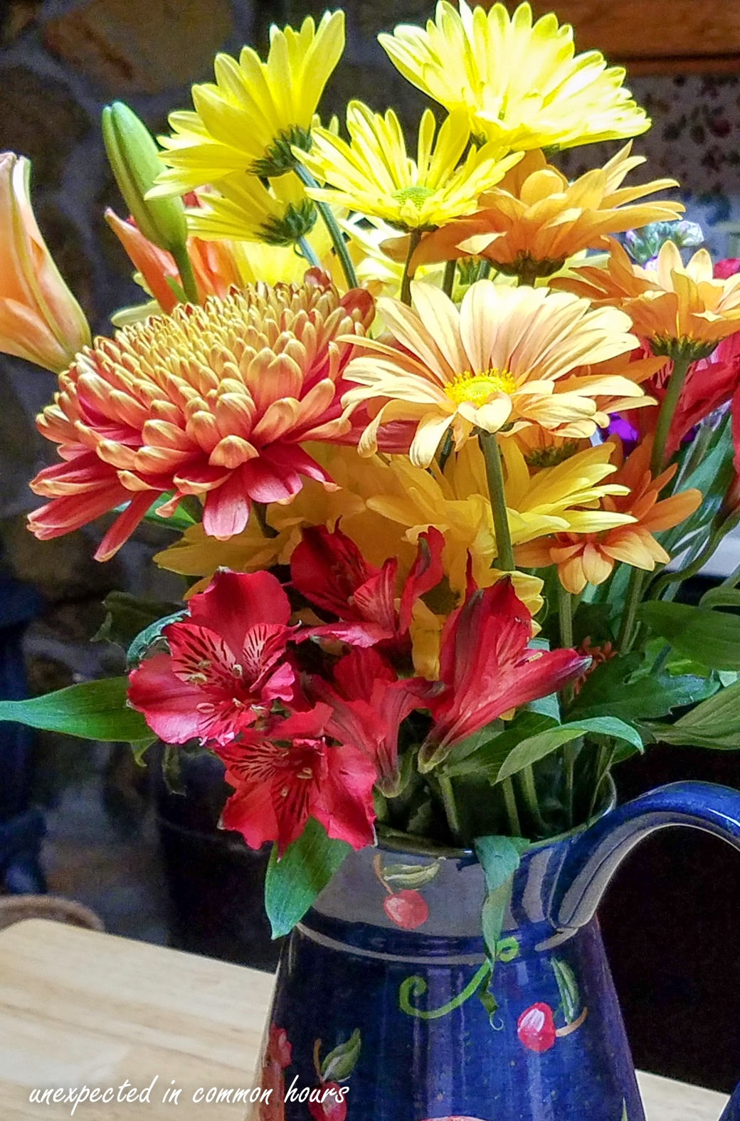 Birthday Flowers Usher In October Unexpected In Common Hours