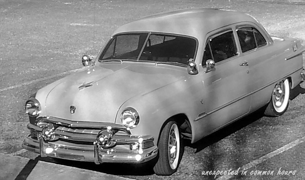 Old car at Mully's
