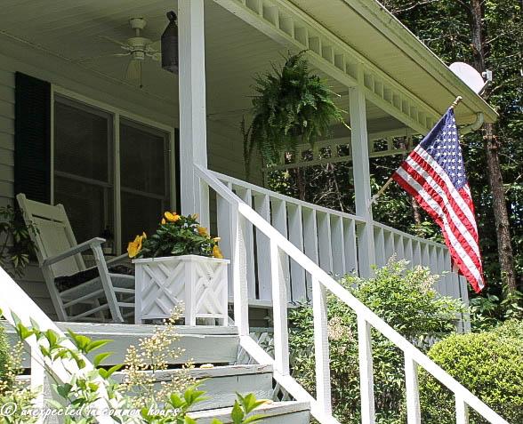 Front porch flag