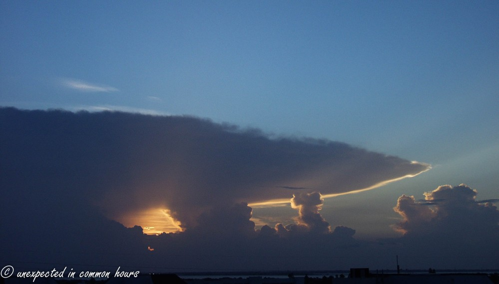 Clouds at New Smyrna Beach2