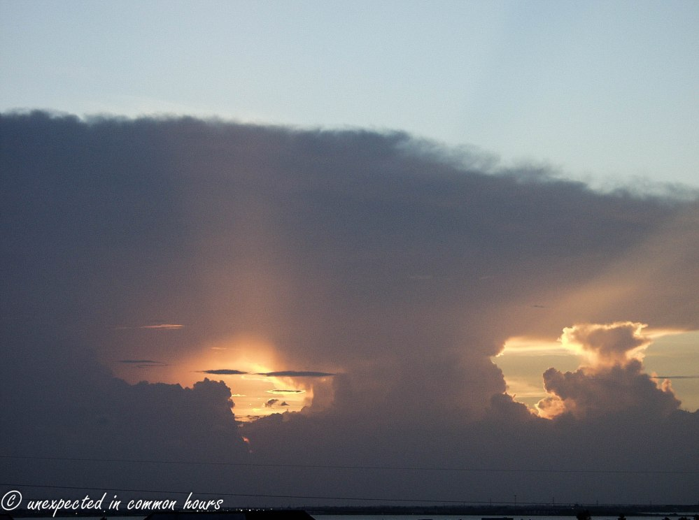 Clouds at New Smyrna Beach3
