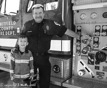 Fire station visit3