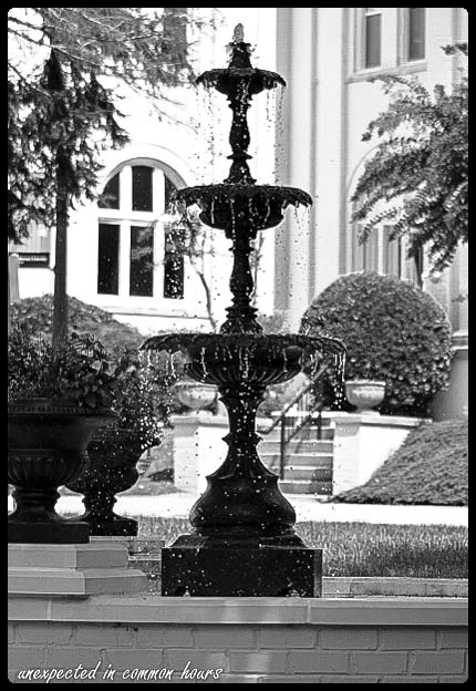 Fountain at Brenau