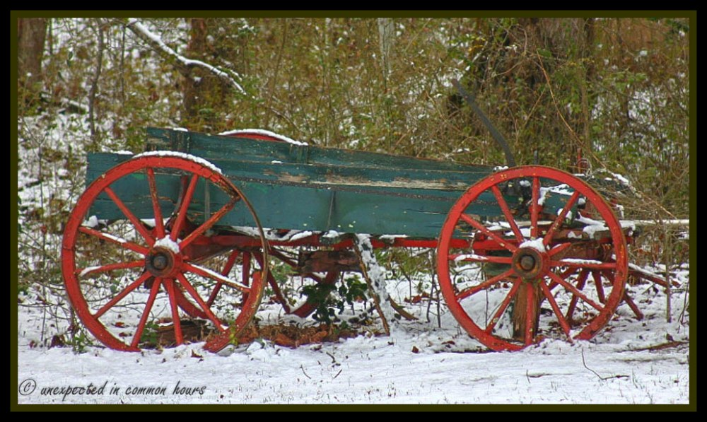 Neglected wagon 2