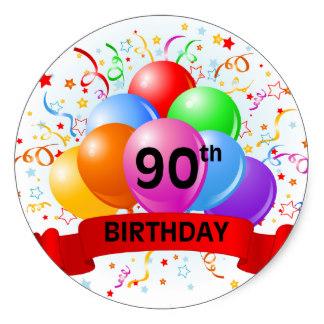 90th_birthday_banner_balloons_classic_round_sticker-ree0215a4f1df4c46b56ef6f78fcbd2d3_v9wth_8byvr_324