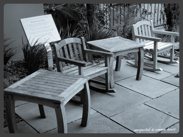 Children's chairs and tables at NEGMC